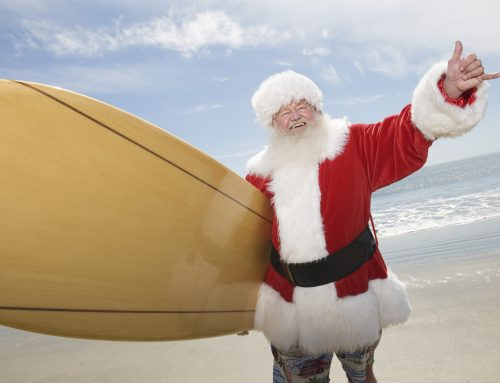 Surfing Santa and more now at Dana Point Harbor